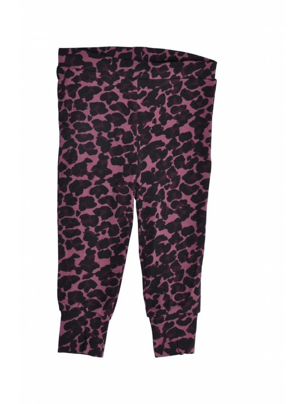 LAATSTE MAAT 56 Leggings Leopard Old Rose