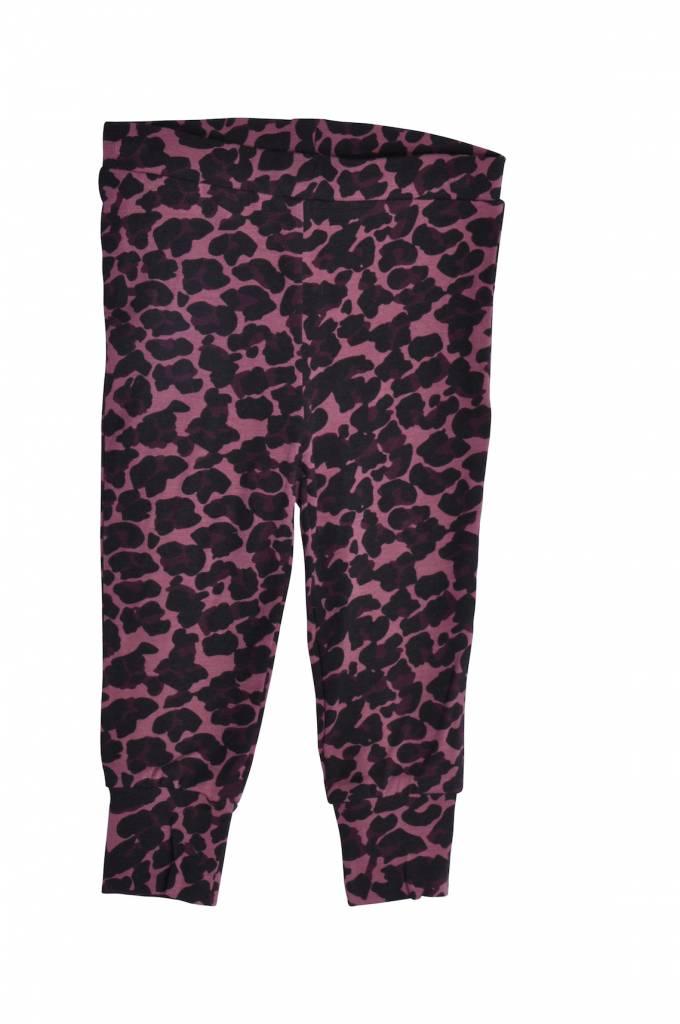 Leggings Leopard Old Rose