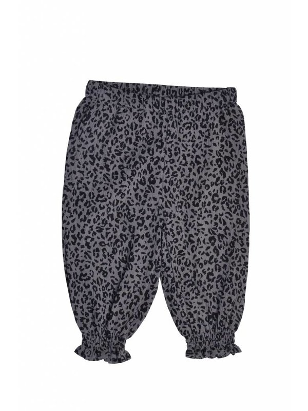 Leopard Pants grey
