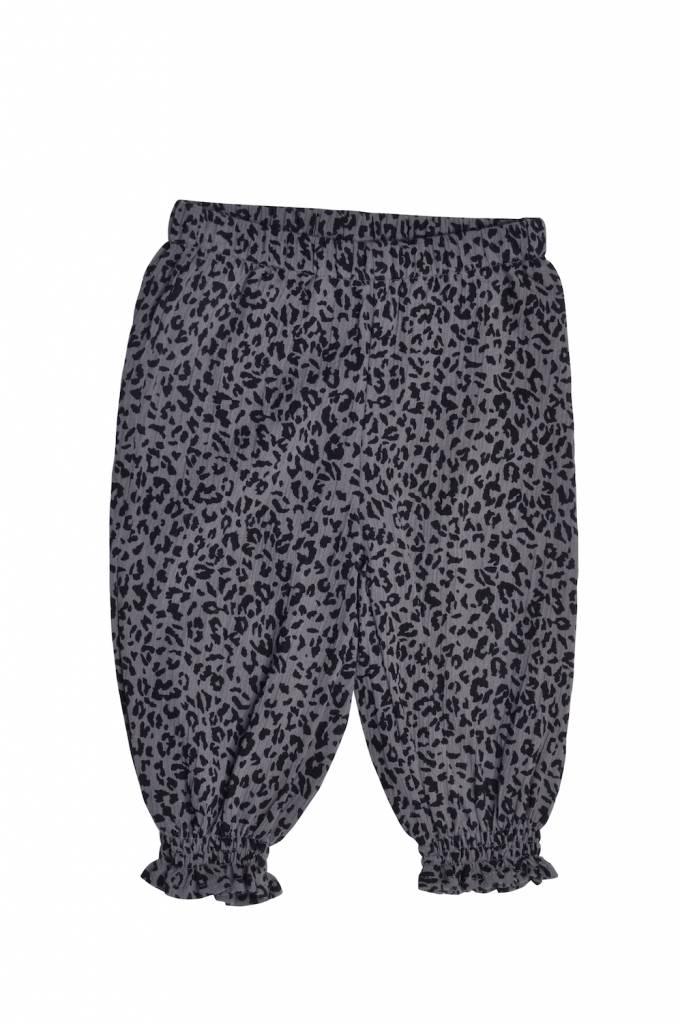 Leopard Pants grey