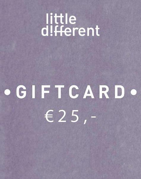 GIFTCARD BOY €25