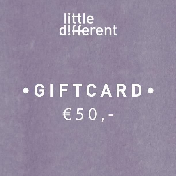 GIFTCARD GIRL €50