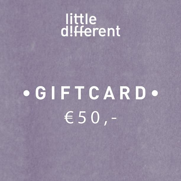 GIFTCARD BOY €50