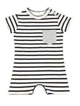 House of Jamie LAATSTE MAAT 74/80 Baby Summer Suit Breton