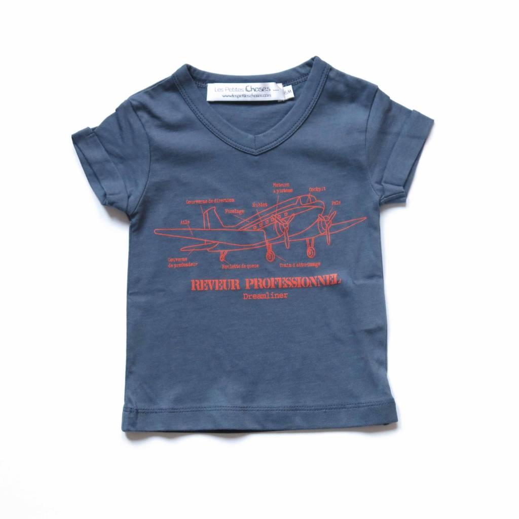 t-shirt MATIAS navy blue