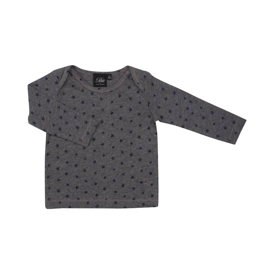 Petit by Sofie Schnoor Long Sleeve grey star