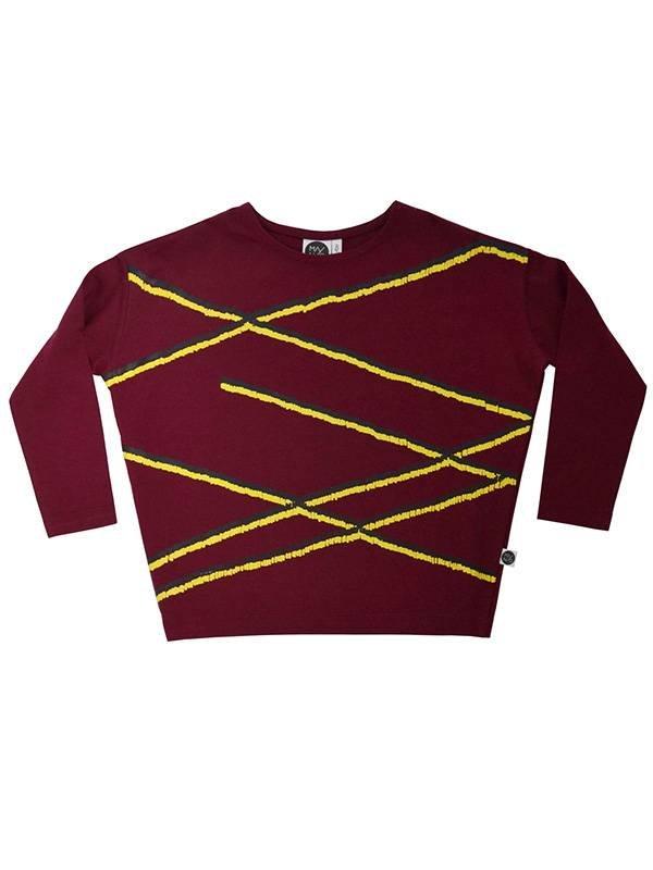 Oversize Shirt red