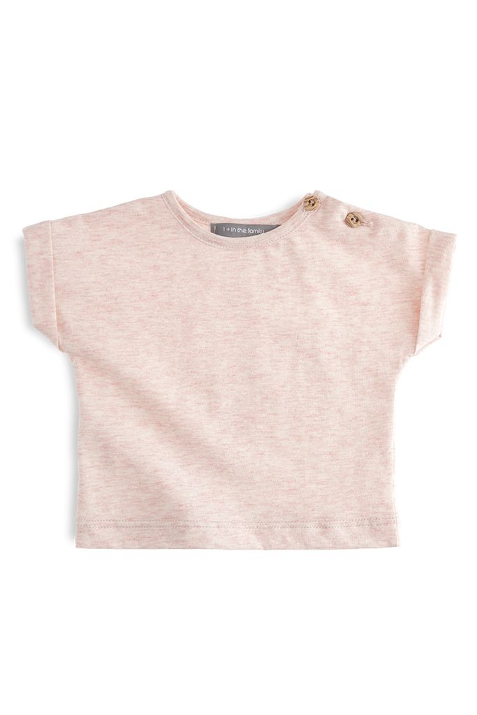 1+ in the family Sofia T-shirt rose