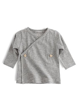 1+ in the family Moises Newborn Shirt denim
