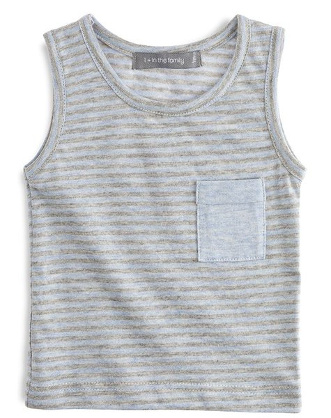 1+ in the family Hector tank top light blue