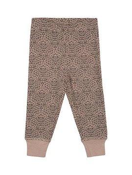 Petit by Sofie Schnoor Pink pants peacock print