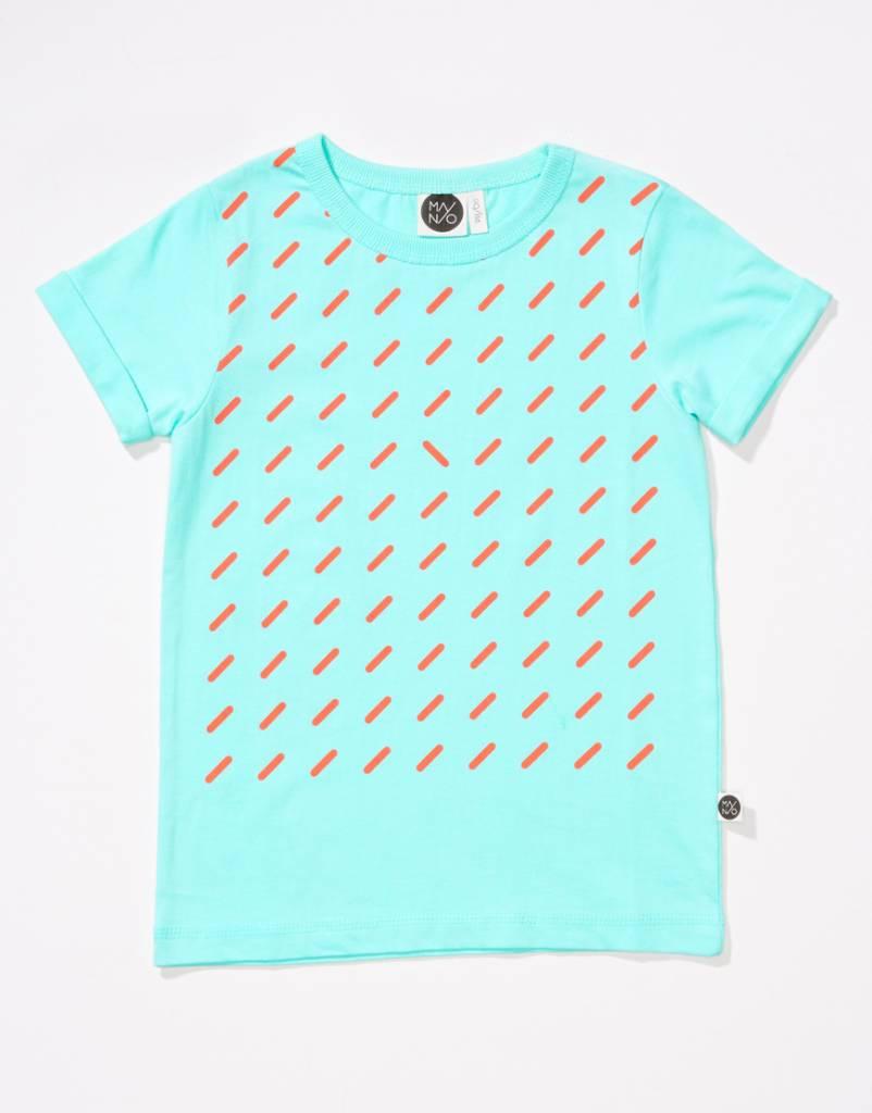 Static T-shirt blue