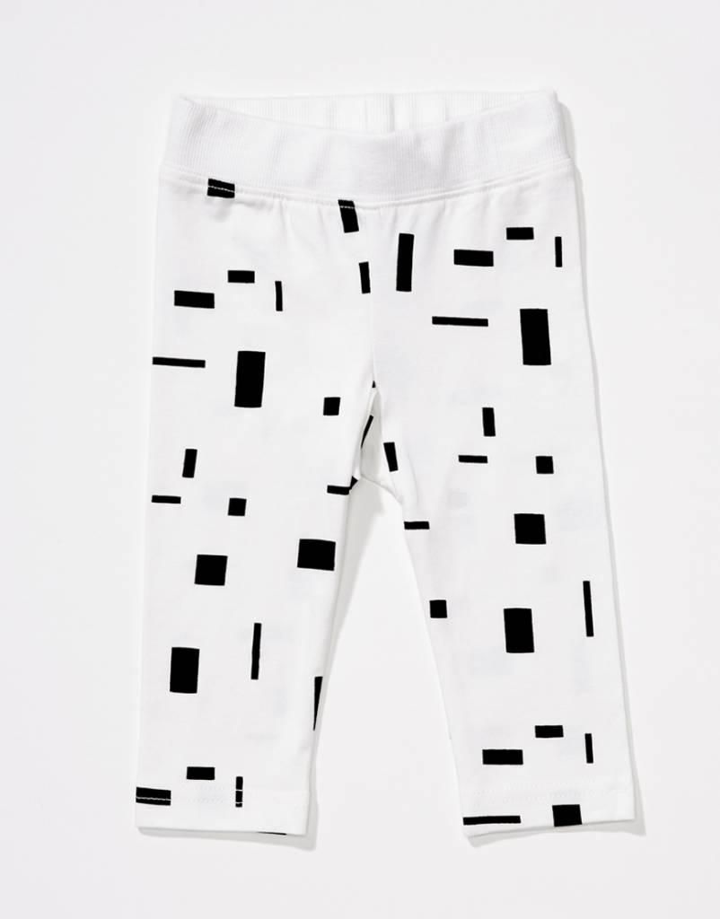 Babies block leggings white