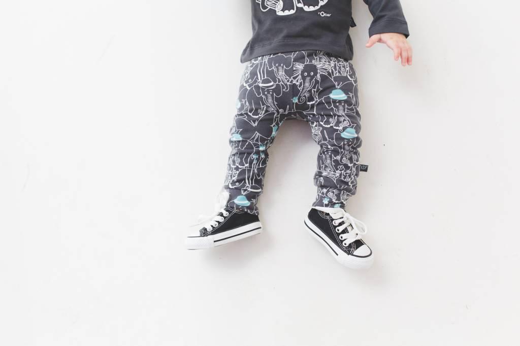 Lex pants elephant friends charcoal
