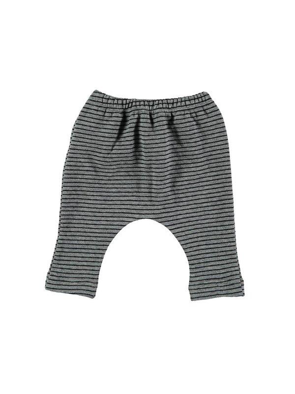 LAATSTE MAAT 1m Betty leggings black stripes
