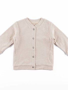 Phil+Phae Sweat Cardigan Roxi oatmeal