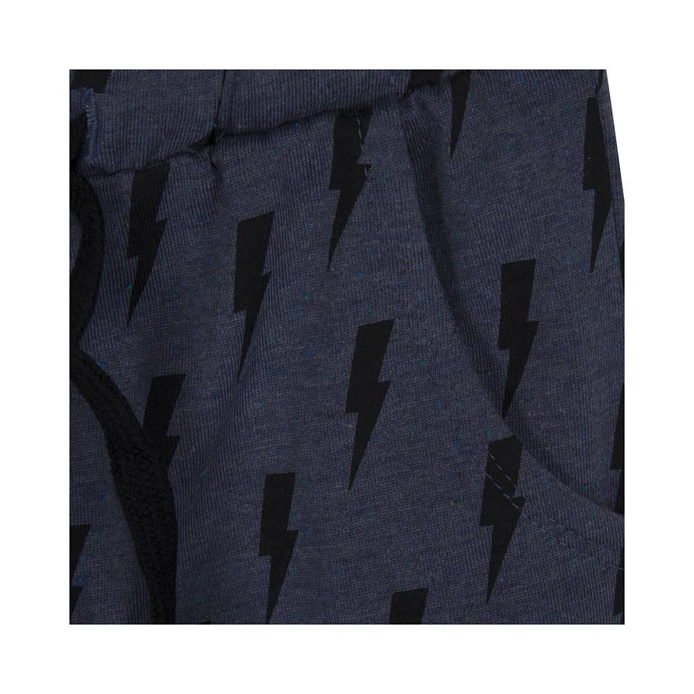 Lightning pants dark blue