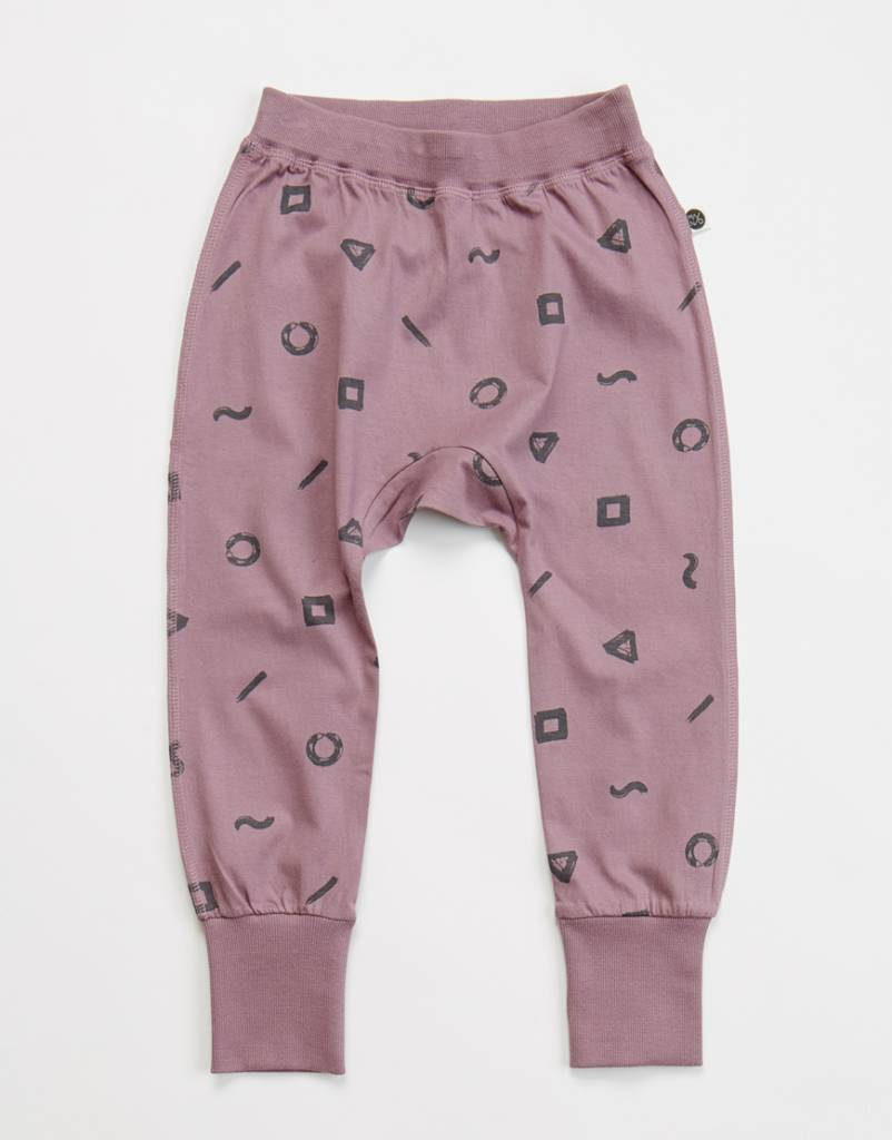 Crayon loose fit pants