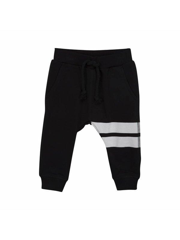 Sporty black sweatpants