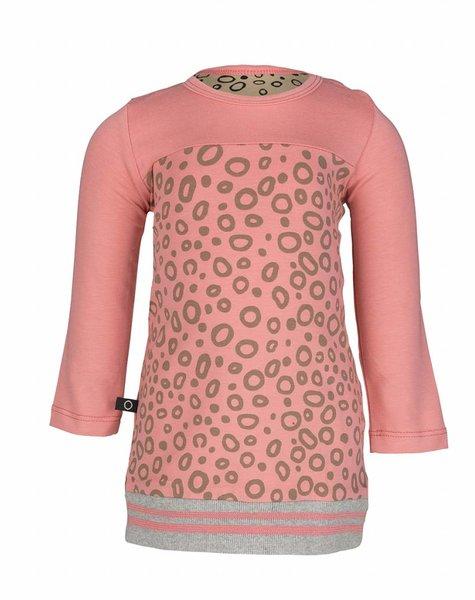 nOeser Dirkje tunic sweater ray coral
