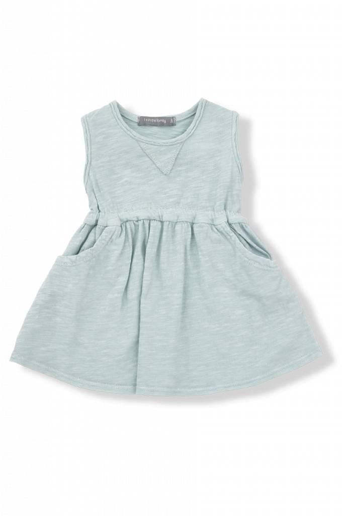 1+ in the family Isaura dress aqua