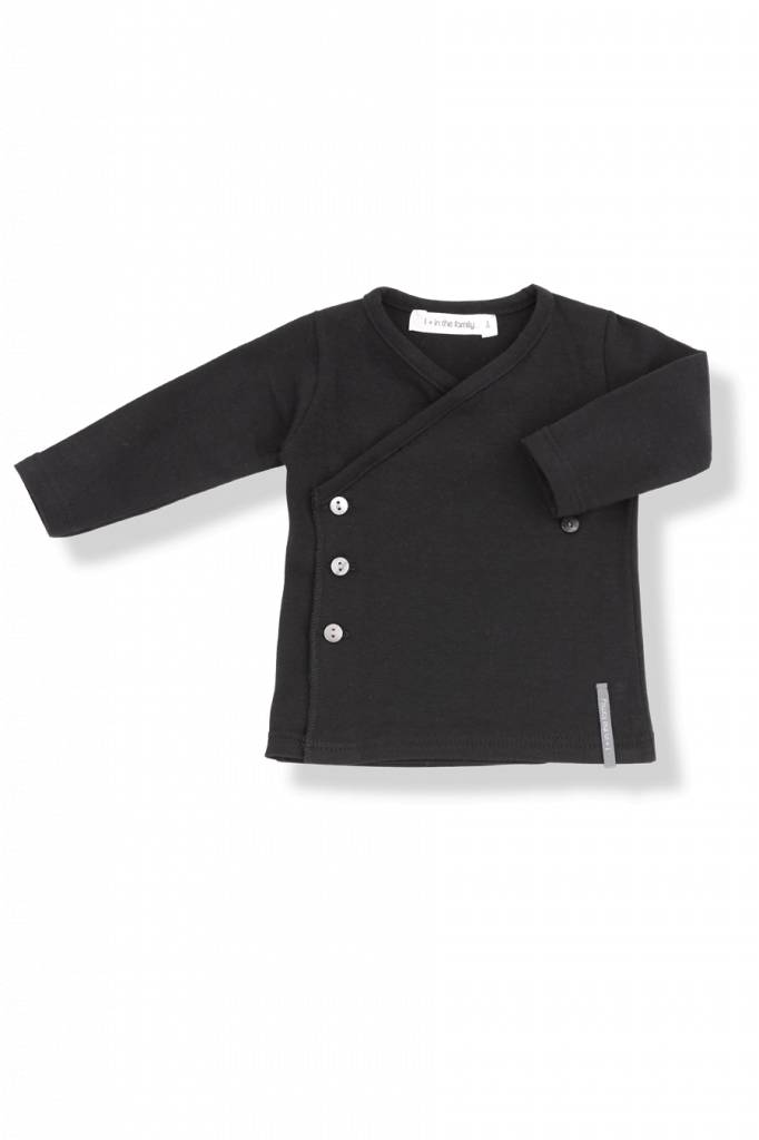 Maria newborn shirt black