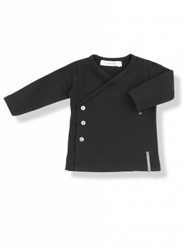 1+ in the family Maria newborn shirt black