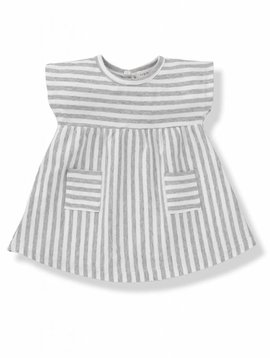 1+ in the family Carol dress white/grey