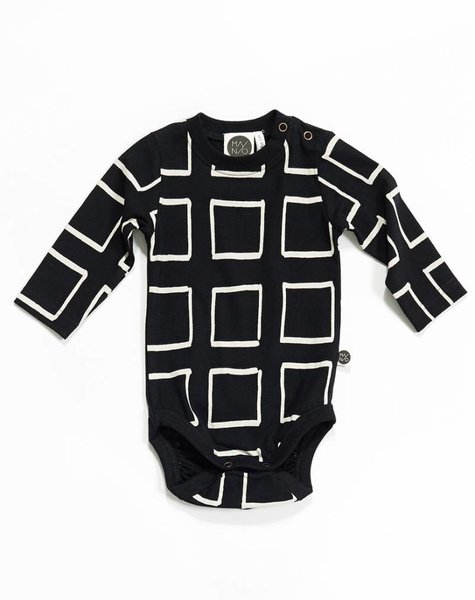 Mainio Frames Bodysuit Black