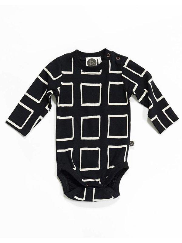 LAATSTE MAAT 62/68 Frames Bodysuit Black