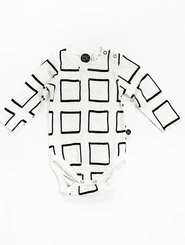 Mainio Frames Bodysuit White