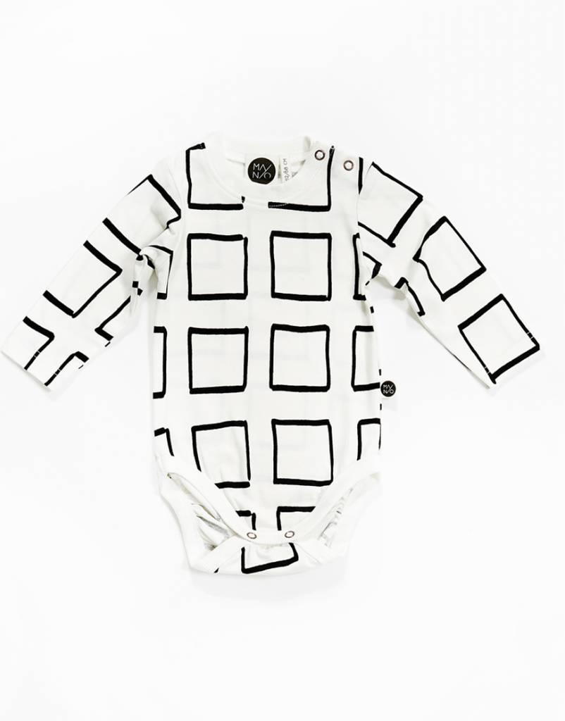 Mainio Frames Bodysuit White