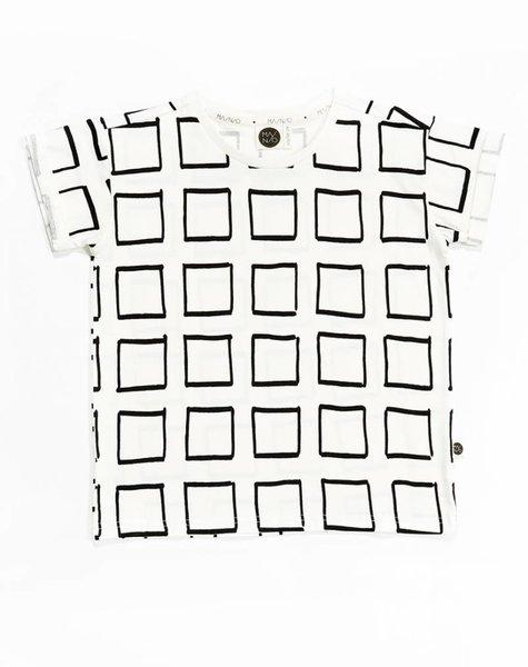Mainio Frames Oversized T-shirt White