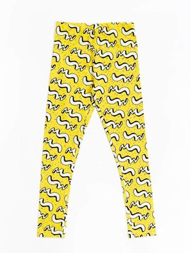 Mainio Motion leggings yellow