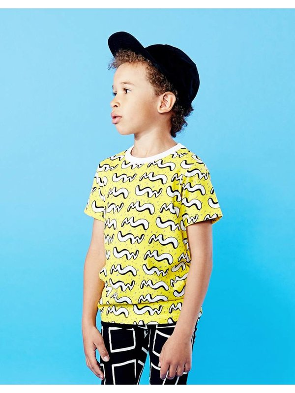 Motion T-shirt Yellow