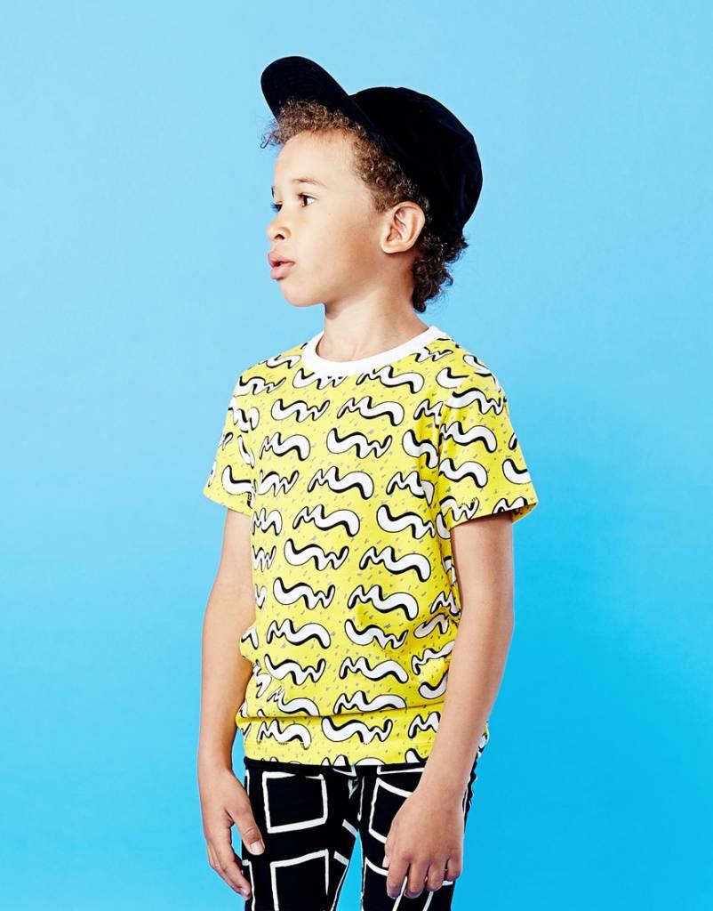 Mainio Motion T-shirt Yellow