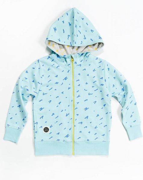 Mainio Scratch zip hoodie
