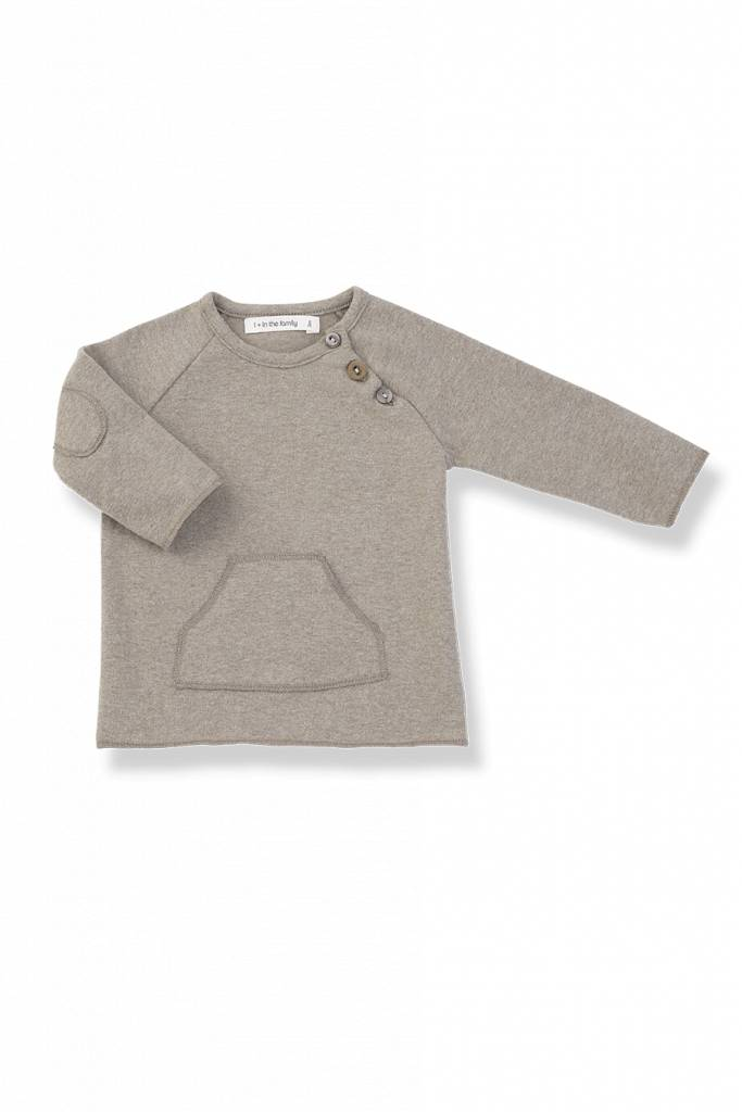 1+ in the family Conrad t-shirt beige