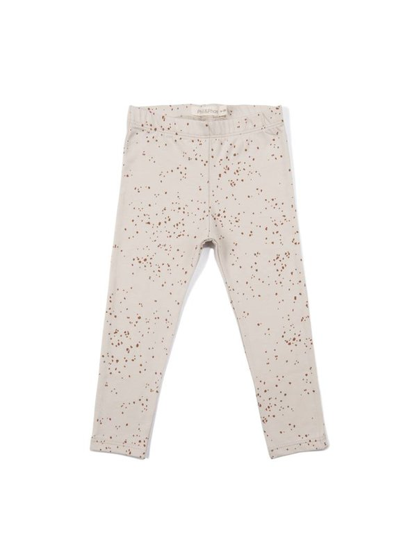 Leggings Jools AOP oatmeal