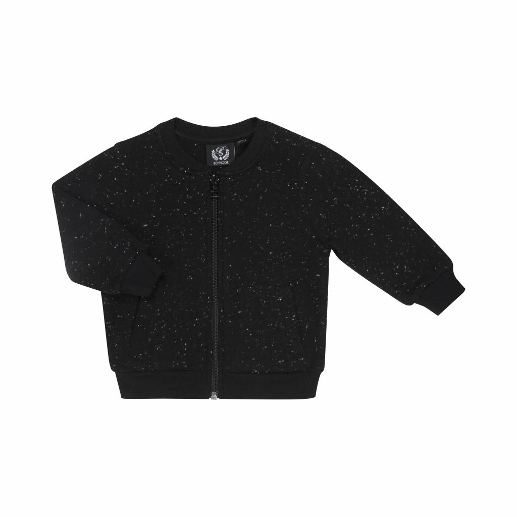 Zip Sweat black