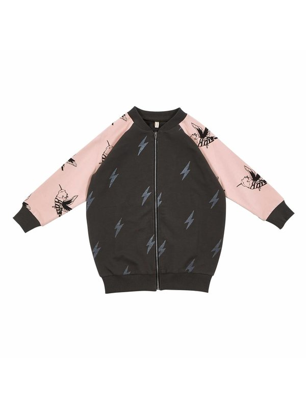 Lightning bird jacket