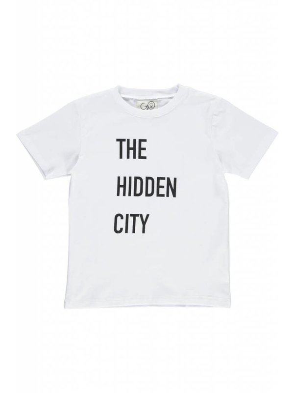 Norr Tee White Hidden City