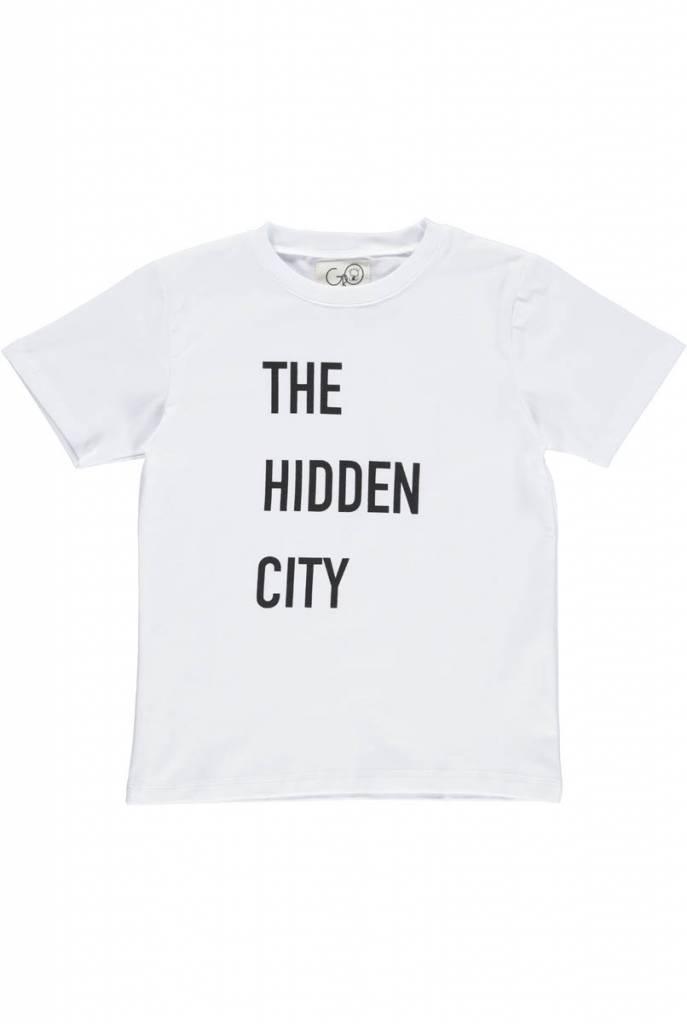 Norr Tee White Hidden City