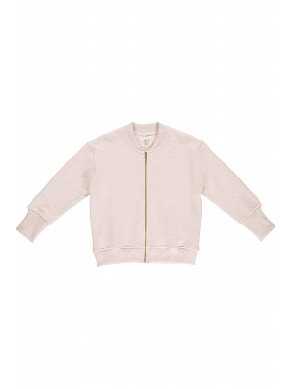 Pearl Knit Bomber