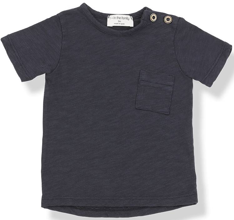 Judd short sleeve t-shirt blu notte