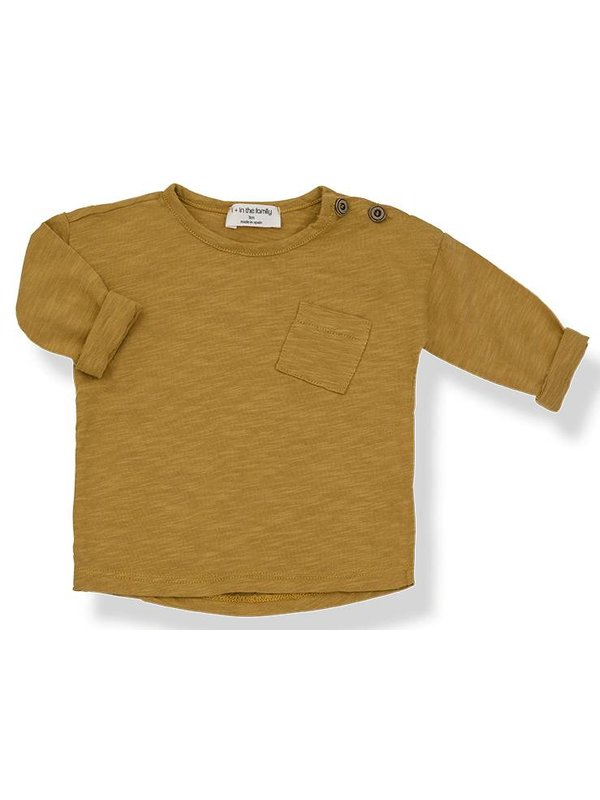 Jasper long sleeve t-shirt mustard