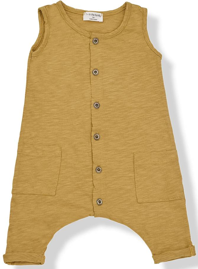 Wassily jumpsuit mustard