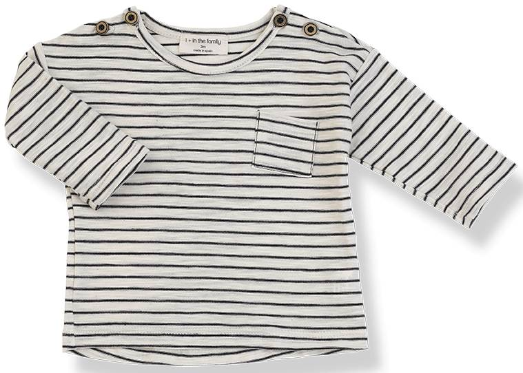 Renoir long sleeve t-shirt blu notte