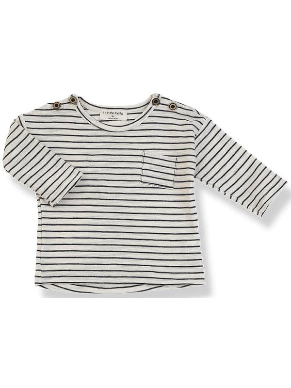 Renoir long sleeve t-shirt blu notte