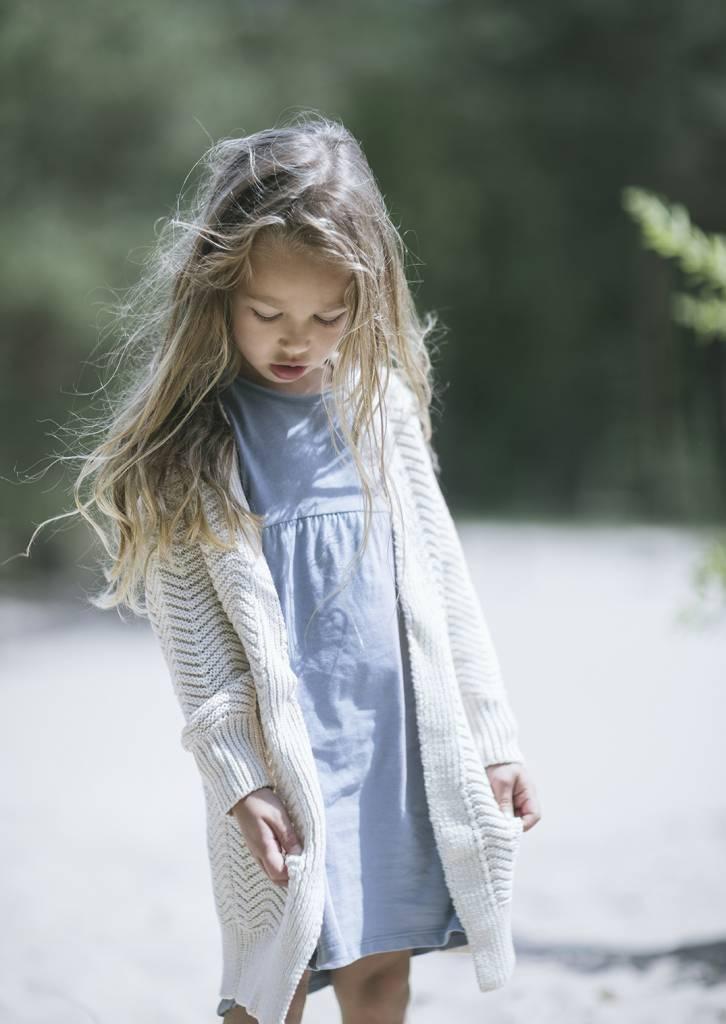 Summer dress lavender blue